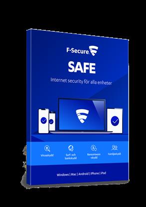 Bild på F-Secure Safe 5 användare månadskostnad